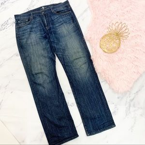 7FAM Carsen Straight Jeans 38